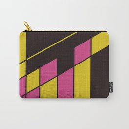 Train Yard #Geometric #Abstract Carry-All Pouch