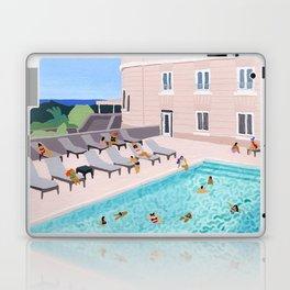 Piscine de l'hôtel Laptop & iPad Skin