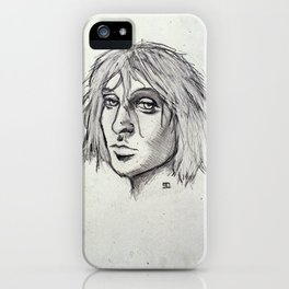 Cobain of the Rocks iPhone Case