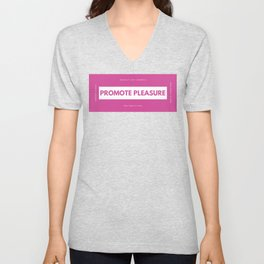 Promote Pleasure Unisex V-Neck