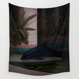 Wicked Garden Wall Tapestry