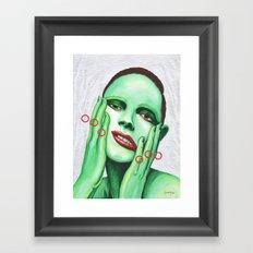 Close Up 7 Framed Art Print