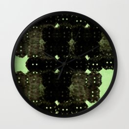 Alien Cocoons Wall Clock