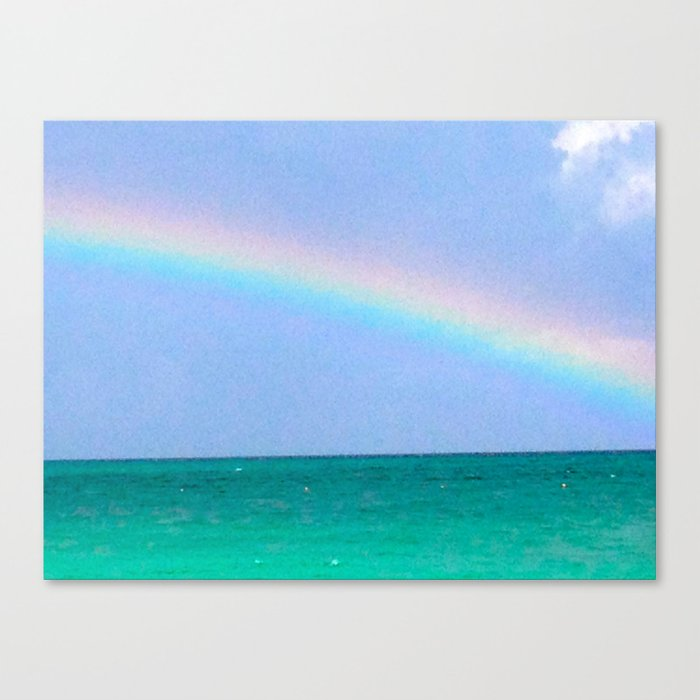 tropical promise Canvas Print