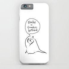 Blanket is French bulldog's best friend iPhone 6s Slim Case