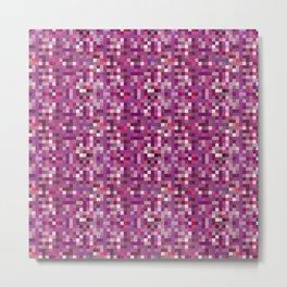purplixels unicorn Metal Print