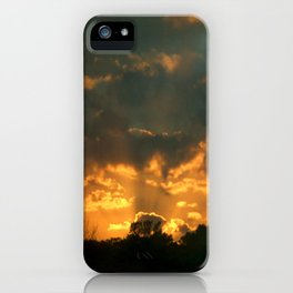Cloud Interference  iPhone Case
