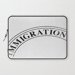 Immigration Stamp Laptop Sleeve