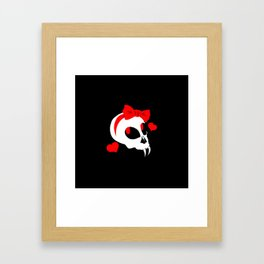 So Cute It Could Kill You Framed Art Print