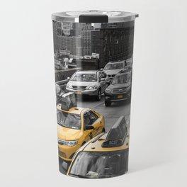 New York City Traffic Travel Mug