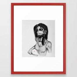 Swallow Your Soul Framed Art Print