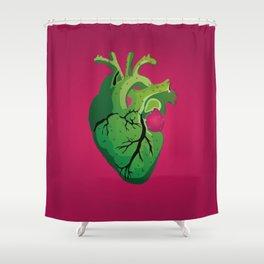 Corazón de Nopal | Cactus Heart Shower Curtain
