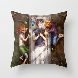 The Darkest Part of the Forest Throw Pillow