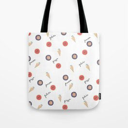 Pizza, Pasta, Gelata. Tote Bag
