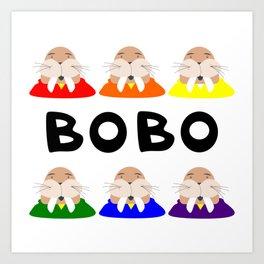 Hey Bobo! Art Print