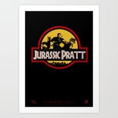Jurassic Pratt Art Print