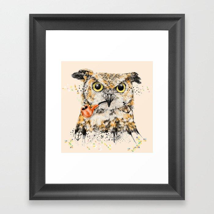 Mr.Owl II Framed Art Print