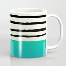 Mermaid & Stripes Coffee Mug