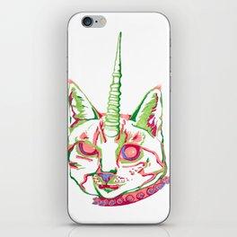 Punk Unicat iPhone Skin