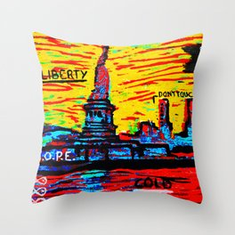 NEY YORK Throw Pillow