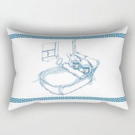 Cup O' Coffee NYC Style_sardines Rectangular Pillow