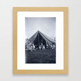 Camping Framed Art Print