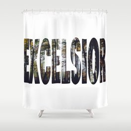 Excelsior - The Raven Cycle Shower Curtain