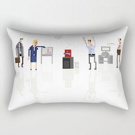Office Zombies Rectangular Pillow