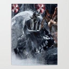 Skull resident Poster