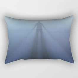 Projecting Into the Fog Rectangular Pillow
