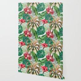 Tropica #pattern #illustration #tropical Wallpaper