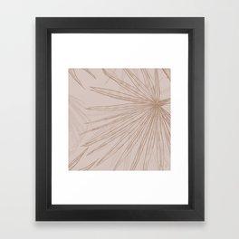 Sand Palms Framed Art Print