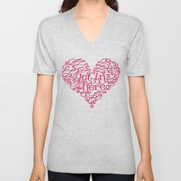 Get In My Heart Unisex V-Neck