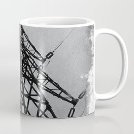Electric Line Scaffold Electric Pylon Coffee Mug