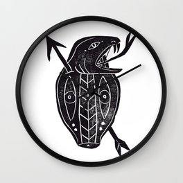 Cobra Head Wall Clock