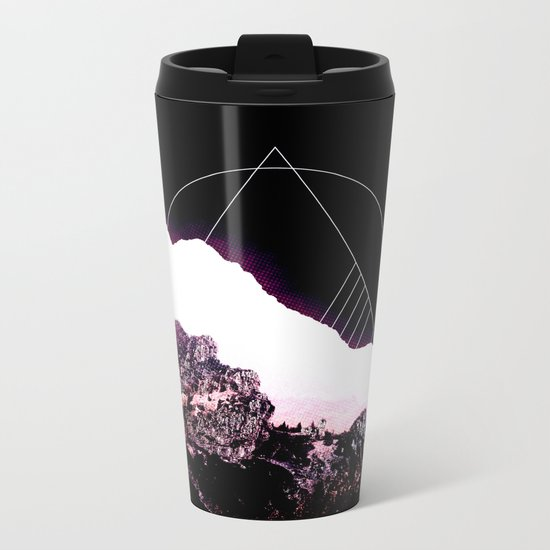 Mountain Ride Metal Travel Mug