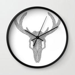 Mr Deer Wall Clock