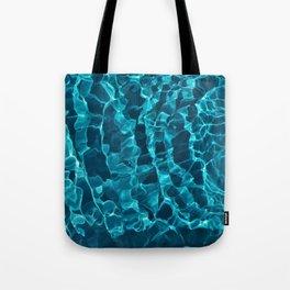 Blue Grass Aqua Roots Tote Bag