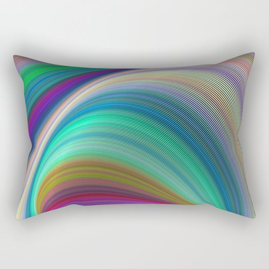 Colorful dream Rectangular Pillow