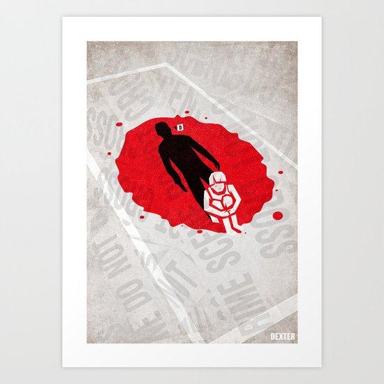 Dexter Poster Art Print