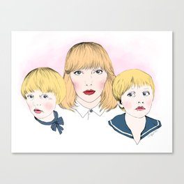 Mina bestyr Canvas Print