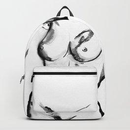 ORIGINAL NUDE BODY ART Backpack