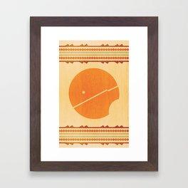 PATTERNS 1-1 Framed Art Print