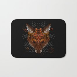 Fox Face Bath Mat