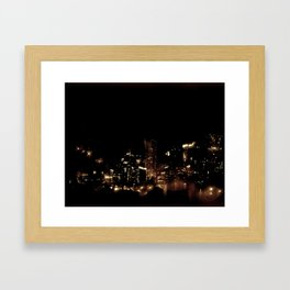 Lost in Some City No. 8 Framed Art Print