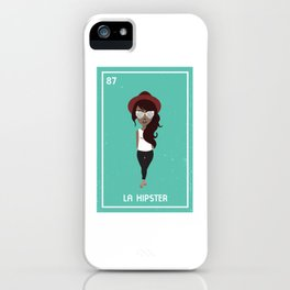 La Hipster iPhone Case