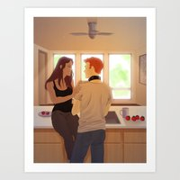Instigation Art Print