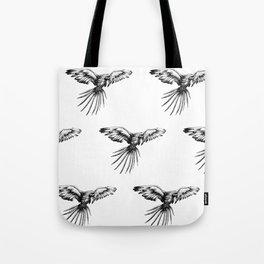 Guacamaya pattern Tote Bag