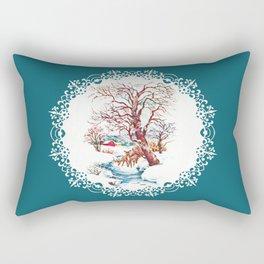 """""""Country Side Deer"""" Rectangular Pillow"""
