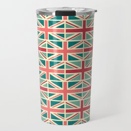 British/UK Flag Pattern Travel Mug